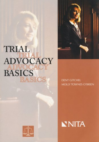 Trial Advocacy Basics 1st 2006 edition cover
