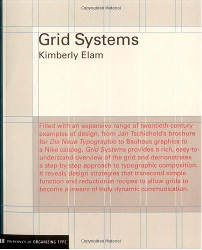 Grid Systems Principles of Organizing Type  2004 edition cover