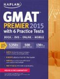 GMAT Premier 2015 with 6 Practice Tests  N/A edition cover
