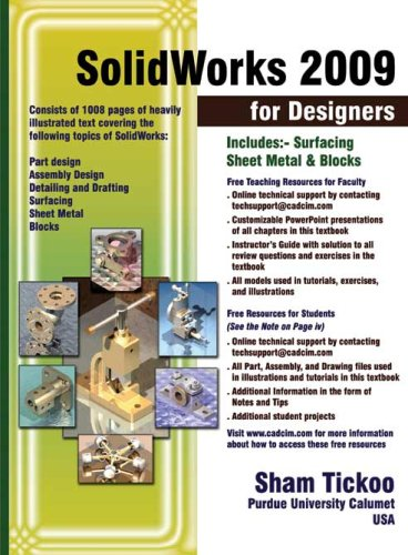 Solidworks 2009 for Designers  N/A edition cover