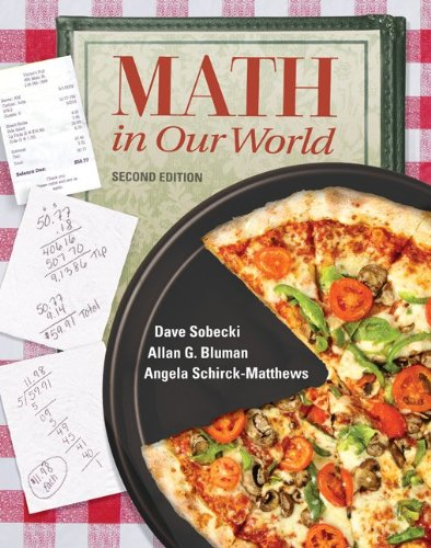 Math in Our World  2nd 2011 edition cover