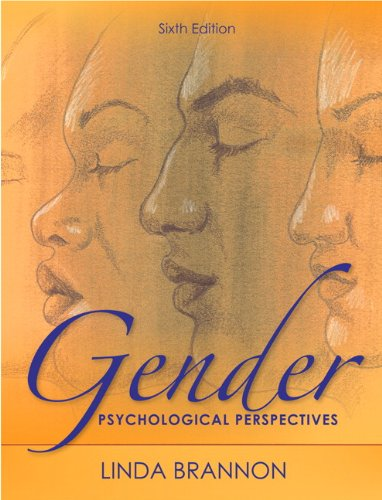 Gender Psychological Perspectives 6th 2011 (Revised) 9780205001651 Front Cover