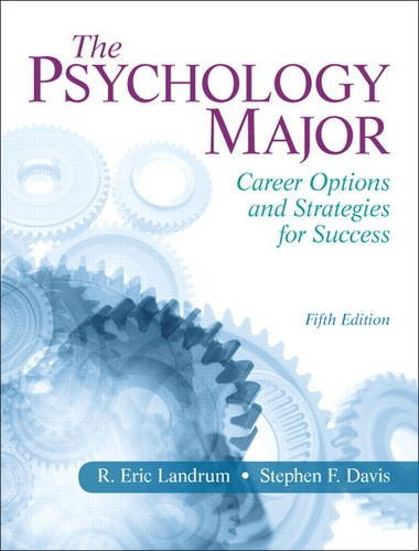 Psychology Major Career Options and Strategies for Success 5th 2014 (Revised) edition cover