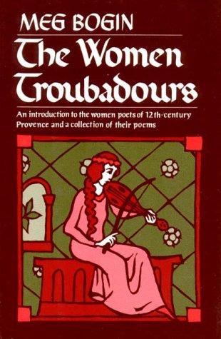 Women Troubadours  Reprint edition cover