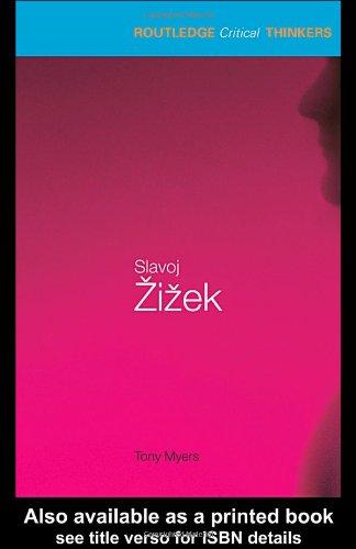 Slavoj Eziezek   2003 9780415262651 Front Cover