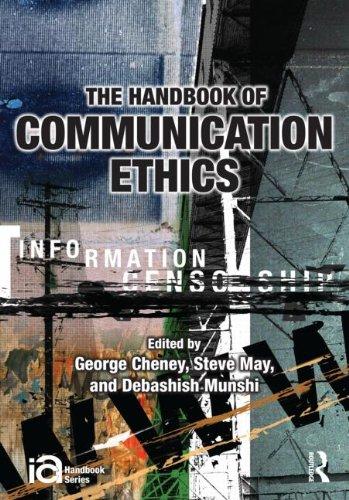 Handbook of Communication Ethics   2011 edition cover