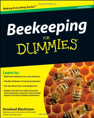 Beekeeping for Dummies�  2nd 2009 edition cover