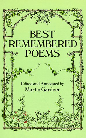 Best Remembered Poems   1992 edition cover