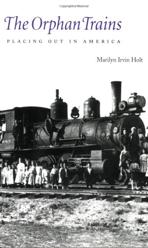 Orphan Trains Placing Out in America  1994 edition cover