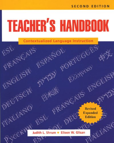 Teacher's Handbook Contextualized Language Instruction 2nd 2000 (Revised) edition cover