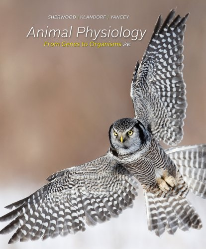Animal Physiology From Genes to Organisms 2nd 2013 edition cover