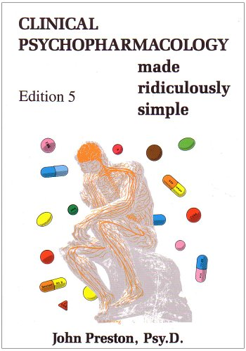 Clinical Psychopharmacology Made Ridiculously Simple  5th 2007 edition cover