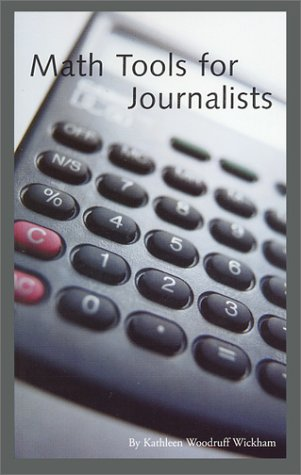 Math Tools for Journalists   2002 9780966517651 Front Cover