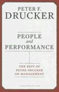 People and Performance The Best of Peter Drucker on Management  2007 edition cover