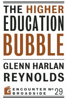 Higher Education Bubble   2012 edition cover