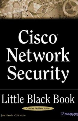 Cisco Network Security Little Black Book   2002 9781932111651 Front Cover