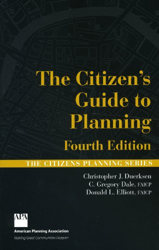 Citizen's Guide to Planning  4th 2009 edition cover