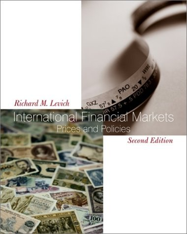 International Financial Markets Prices and Policies 2nd 2001 (Revised) edition cover
