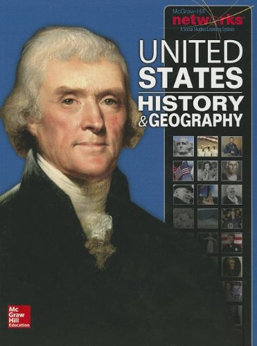 United States History and Geography, Student Edition   2014 (Student Manual, Study Guide, etc.) 9780076608652 Front Cover