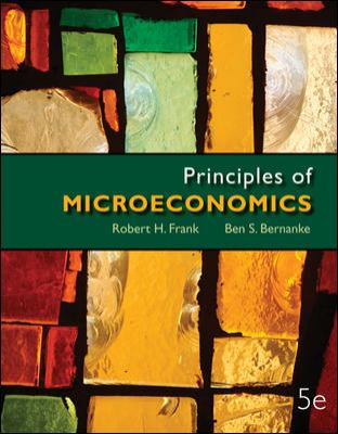 Principles of Microeconomics with Connect Plus  5th 2013 edition cover