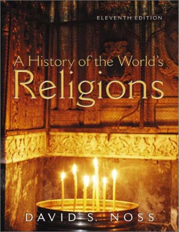 History of the World's Religions  11th 2003 (Revised) edition cover
