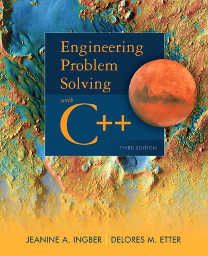 Engineering Problem Solving with C++  3rd 2012 (Revised) edition cover