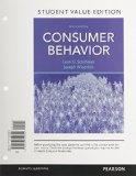 Consumer Behavior, Student Value Edition  11th 2015 edition cover