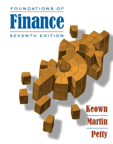 Foundations of Finance  7th 2011 edition cover