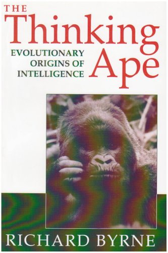 Thinking Ape Evolutionary Origins of Intelligence  1995 edition cover