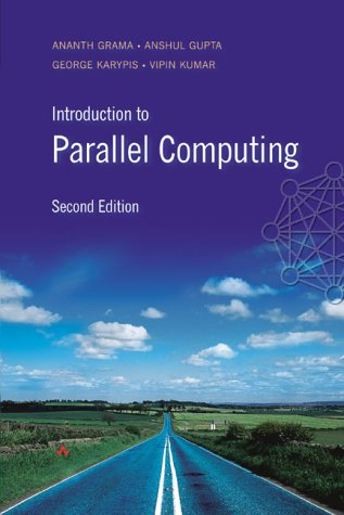 Introduction to Parallel Computing  2nd 2003 (Revised) edition cover