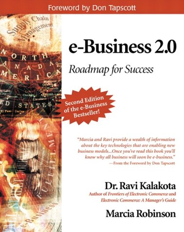 E-Business 2.0 Roadmap for Success 2nd 2001 (Revised) edition cover