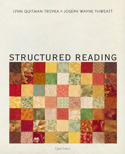 Structured Reading  8th 2013 (Revised) edition cover