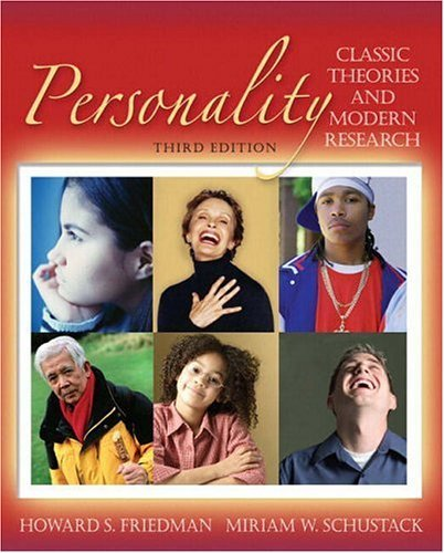 Personality Classic Theories and Modern Research 3rd 2006 (Revised) edition cover