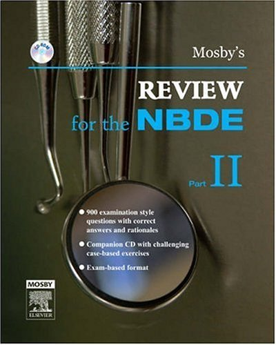 Mosby's Review for the NBDE, Part II   2007 edition cover