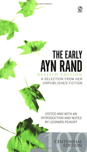 Early Ayn Rand   2005 (Revised) edition cover