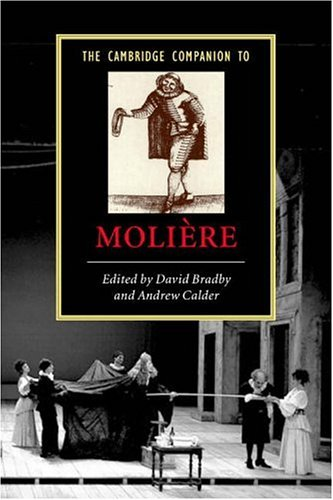 Cambridge Companion to Moli�re   2006 edition cover