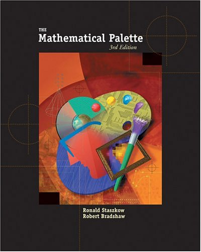 Mathematical Palette  3rd 2005 edition cover