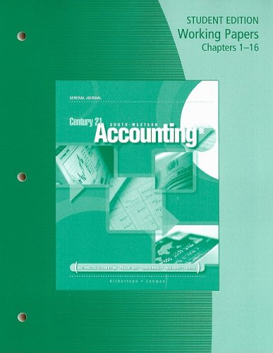 Accounting, Chapters 1-16  9th 2009 edition cover