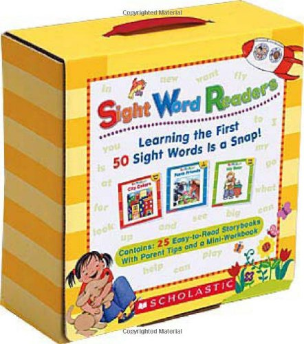 Sight Word Readers Learning the First 50 Sight Words Is a Snap!  2007 9780545067652 Front Cover