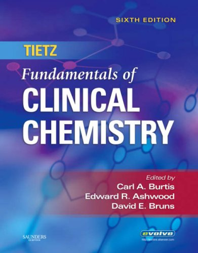 Tietz Fundamentals of Clinical Chemistry  6th 2007 edition cover