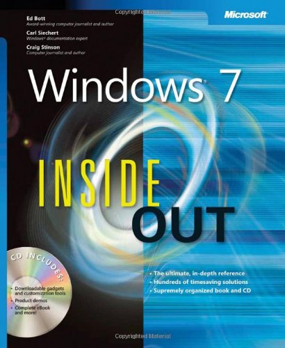 Windows 7 Inside Out   2010 edition cover