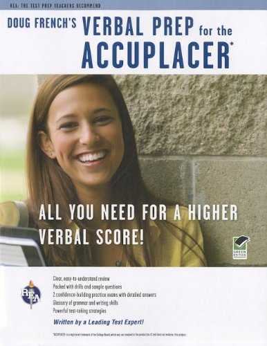 Doug French's Verbal Prep - Accuplacer�  N/A edition cover