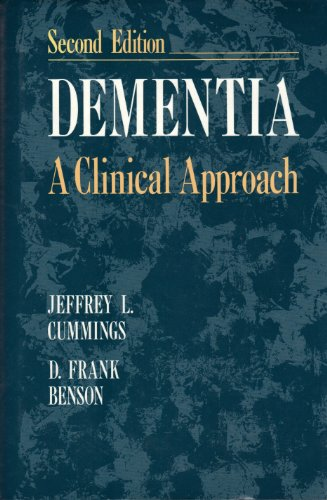 Dementia A Clinical Approach 2nd 1992 9780750690652 Front Cover