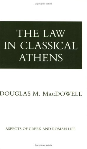 Law in Classical Athens  N/A edition cover