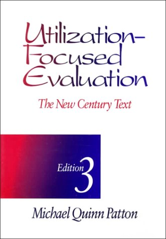 Utilization-Focused Evaluation The New Century Text 3rd 1996 (Revised) edition cover