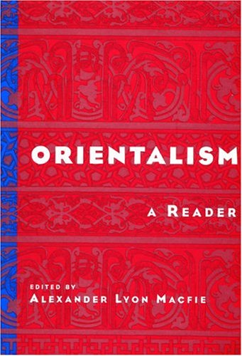 Orientalism A Reader  2000 edition cover