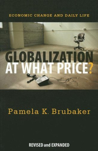 Globalization at What Price? : Economic Change and Daily Life  2007 edition cover