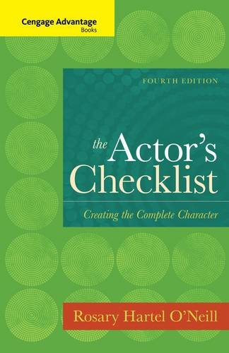 Actor's Checklist Creating the Complete Character 4th 2014 edition cover