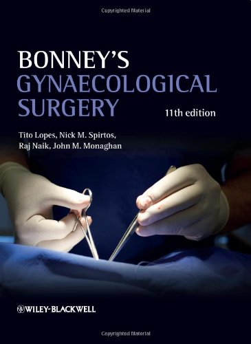 Bonney's Gynaecological Surgery  11th 2010 9781405195652 Front Cover