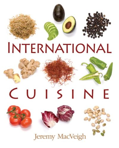 International Cuisine   2009 edition cover
